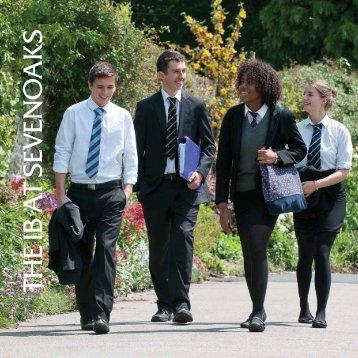 the ib a t seven o ak s - Sevenoaks School