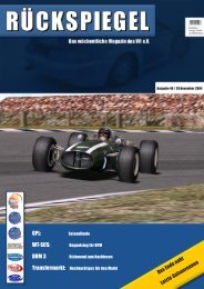 GPL: WT-SCS: DOM 3 - Virtual Racing eV