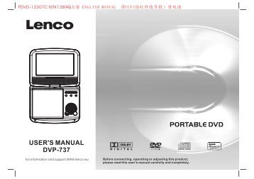 pdvd magazines rh yumpu com  lenco washing machine manual
