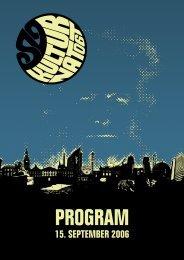 Oslo Kulturnatt program 2006
