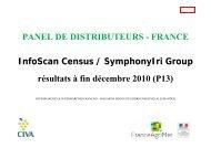 PANEL DE DISTRIBUTEURS - FRANCE InfoScan ... - Vins d'Alsace