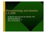 Phenomenolgy and Intuition according to Adolf Reinach