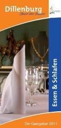 Hotels · Pensionen · Gasthöfe Privatunterkünfte - Stadt Dillenburg