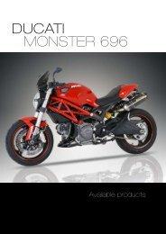 DUCATI MONSTER 696 - Masi-Import