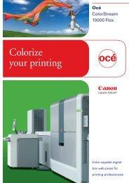 Océ ColorStream 10000 Flex - Brochures