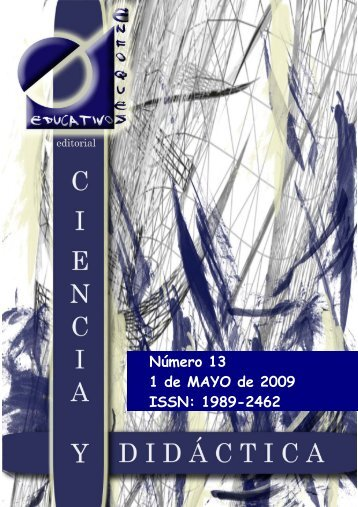 Nº13 01/05/2009 - enfoqueseducativos.es