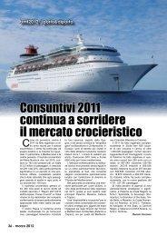 Consuntivi 2011 continua a sorridere il mercato ... - Porto & diporto