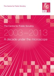 CfPS 2003 - 2013 A decade under the microscope - Centre for ...