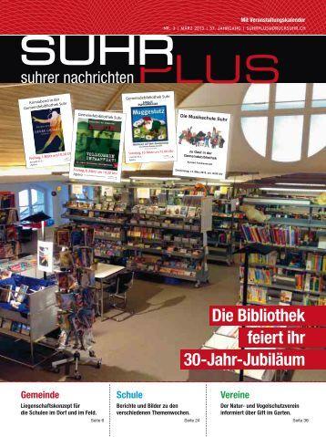 Schule - Druckerei AG Suhr