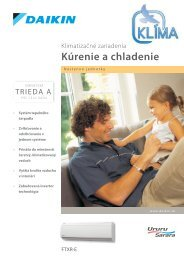 Daikin Ururu Sarara katalóg 2010.pdf - KLIMA s.r.o.