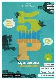 Diese Ausgabe als PDF runterladen - P - Stadtkulturmagazin