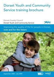 Dorset Youth and Community Service training ... - Dorsetforyou.com
