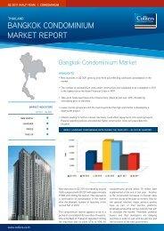 Bangkok Condominium market rePort - Colliers