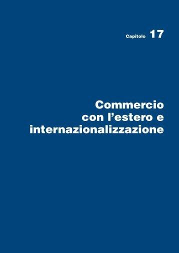 Commercio con l'estero e internazionalizzazione - Conferenza delle ...