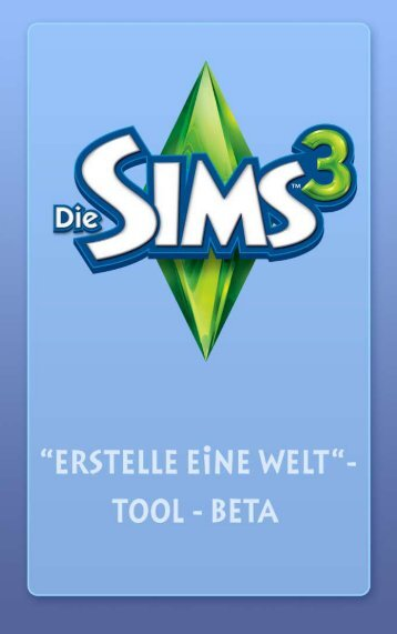 ea-tools- und materialien-endbenutzerlizenzvertrag - The Sims 3