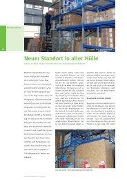 Neuer Standort in alter Hülle - Karl Dengler GmbH