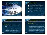 PowerPoint Template - Blogs Universitas Udayana