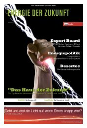 Energie der Zukunft - Smart Media Publishing