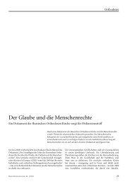 Ingeborg Gabriel und Stefan Tobler. - Dienst für Mission, Ökumene ...