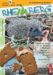 19.12. - Stadtmagazin Rheinberg