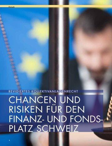 CHANCEN UND RISIKEN FÜR DEN FINANZg UND FONDSg ...