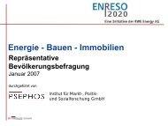 Präsentationsbeispiel Arial fett, 40 pt, blau - ENRESO 2020