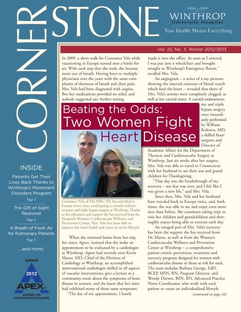 Two Women Fight Heart Disease - Winthrop University Hospital