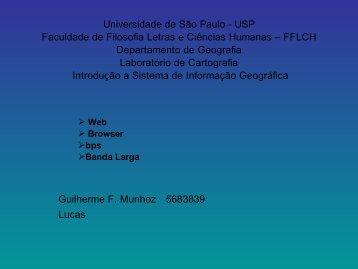 Web - Departamento de Geografia - USP