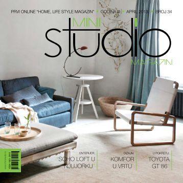 SOHO LOFT U NJUJORKU - Mini Studio Magazin