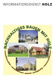Nachhaltiges Bauen mit Holz - Korona Holz & Haus GmbH