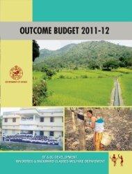 Outcome Budget - 2011-12 - Stscodisha.gov.in