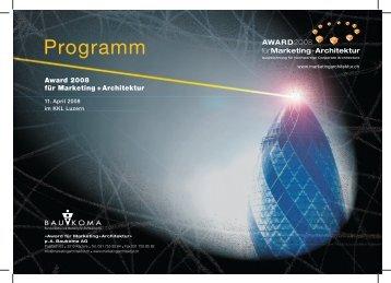 Programmheft - Baukoma AG