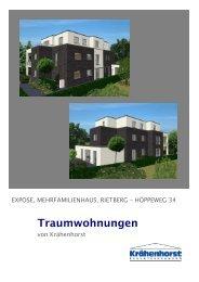 4 Eigentumswohnungen - Krähenhorst Bauunternehmung GmbH