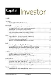 CAPITAL Investor 06/2011