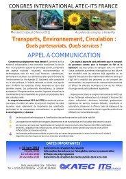 appel à communication DEFINITIFV150410 - Atec/ITS France