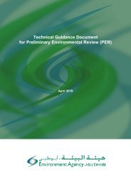 Technical Guidance Document for Preliminary Environmental Review