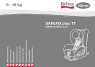 SAFEFIX plus TT 9 - 18 kg - Britax