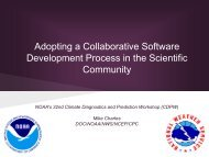 Adopting a Collaborative Software Development Process in the ...