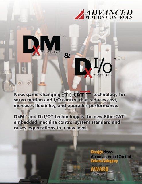 DxM and DxI/O Technology - Advanced Motion Controls