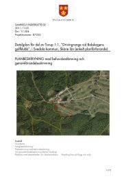"""Detaljplan för del av Torup 1:1, """"Drivingrange vid ... - Svedala kommun"""