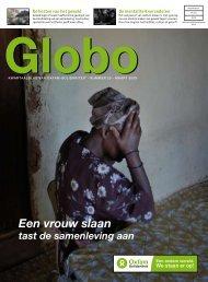 Globo 25: Een vrouw slaan tast de samenleving ... - Oxfam-Solidariteit