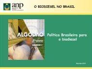 Política brasileira para o biodiesel - Abrapa