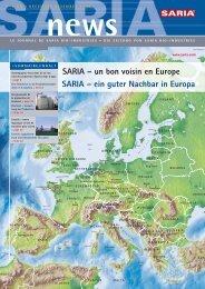 ein guter Nachbar in Europa SARIA - Saria Bio-Industries AG & Co. KG