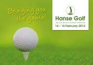 14 – 16 February 2014 - Hanse Golf Hamburg