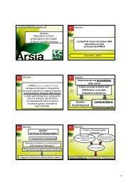 I progetti di ricerca nel settore della agricoltura ... - Archivio Rete Poli