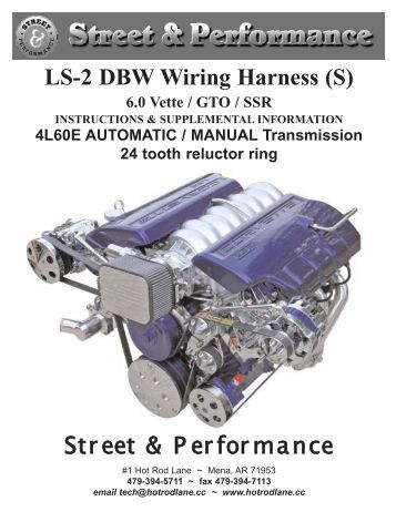 ls 1 wiring harness performance