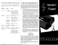 Untitled OmniPage Document - Precision Power