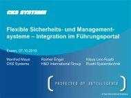 und Management - Security-Forum