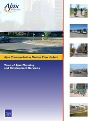 Ajax Transportation Master Plan Update - Town of Ajax