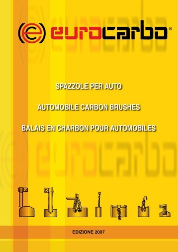 Automobile Carbon Brushes